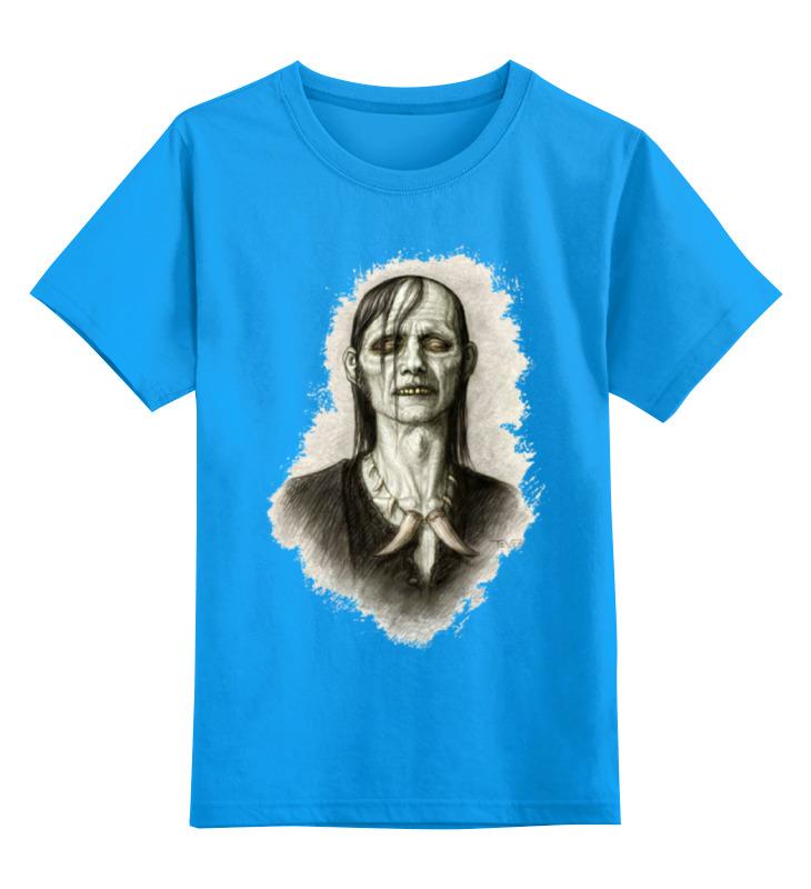цена на Детская футболка классическая унисекс Printio Zomdie art girl