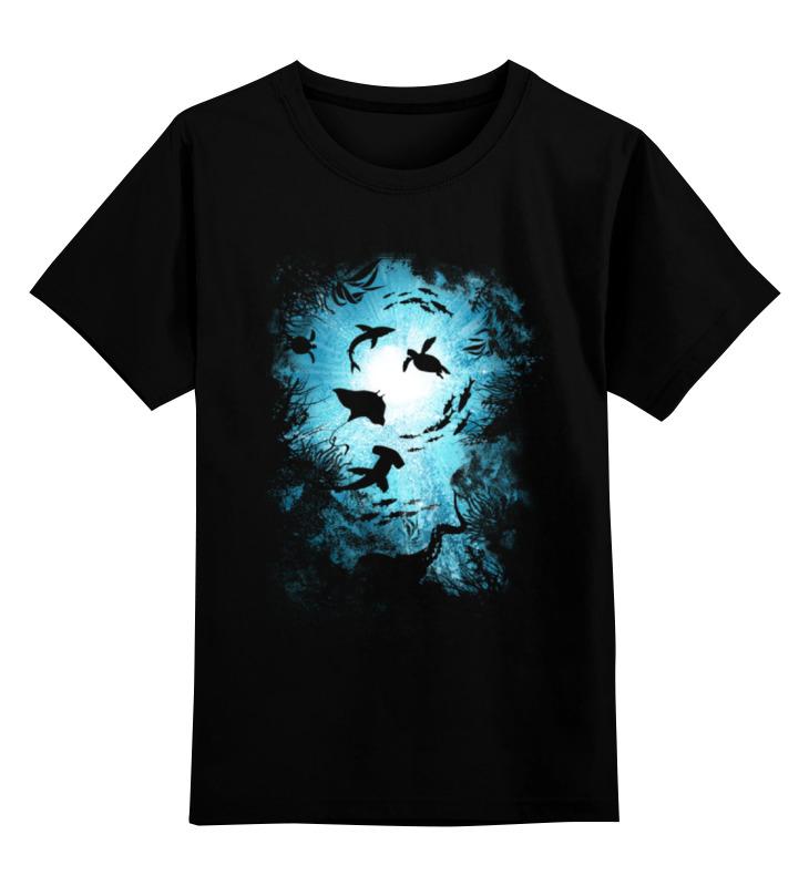 Детская футболка классическая унисекс Printio Подводный мир детская футболка классическая унисекс printio мачете