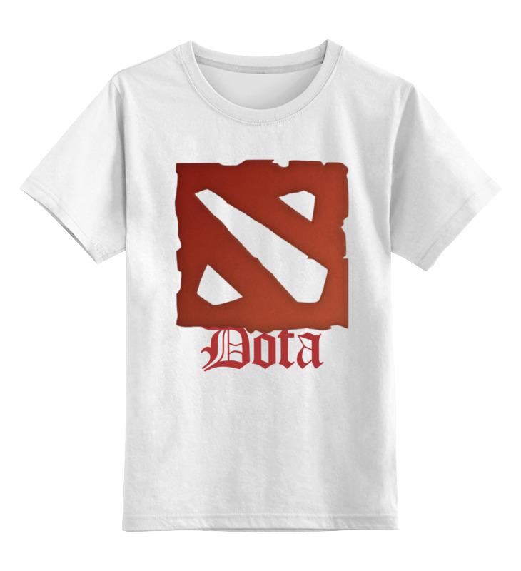 Детская футболка классическая унисекс Printio Dota детская футболка классическая унисекс printio dota 2 logo