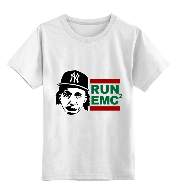 Детская футболка классическая унисекс Printio Run emc детская футболка классическая унисекс printio run вася run