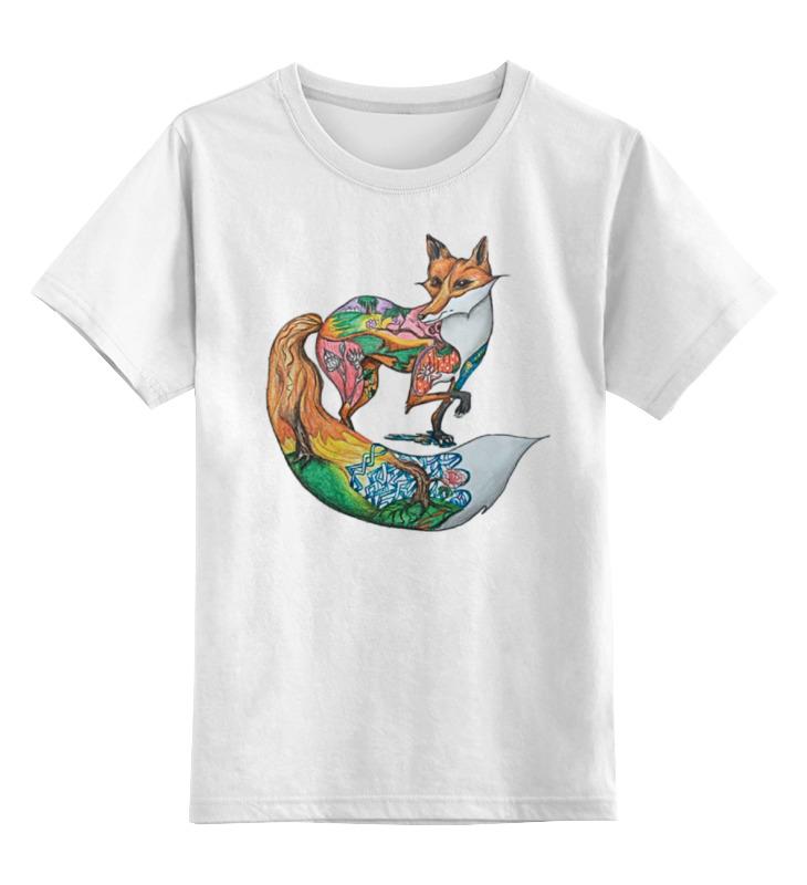 Детская футболка классическая унисекс Printio Lissa art