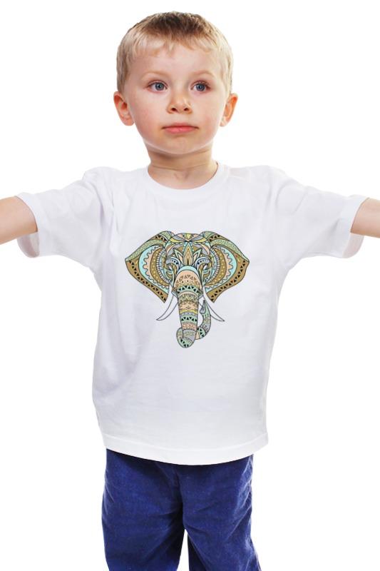 Детская футболка классическая унисекс Printio Слоник детская футболка классическая унисекс printio мачете