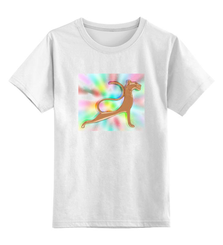 Детская футболка классическая унисекс Printio Багира