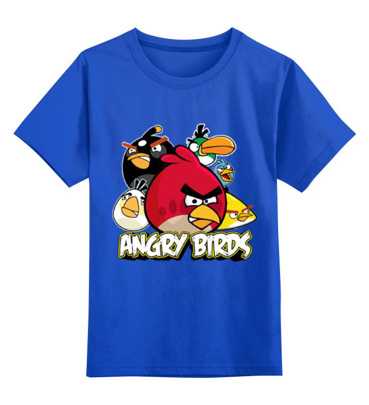 Детская футболка классическая унисекс Printio Angry birds angry birds игра детская сердитые птички дартс мяч лизун в наборе