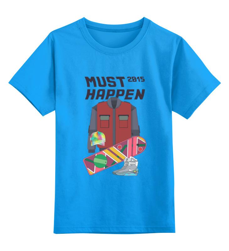Фото - Детская футболка классическая унисекс Printio Назад в будущее (back to the future) contrast lace keyhole back blouse
