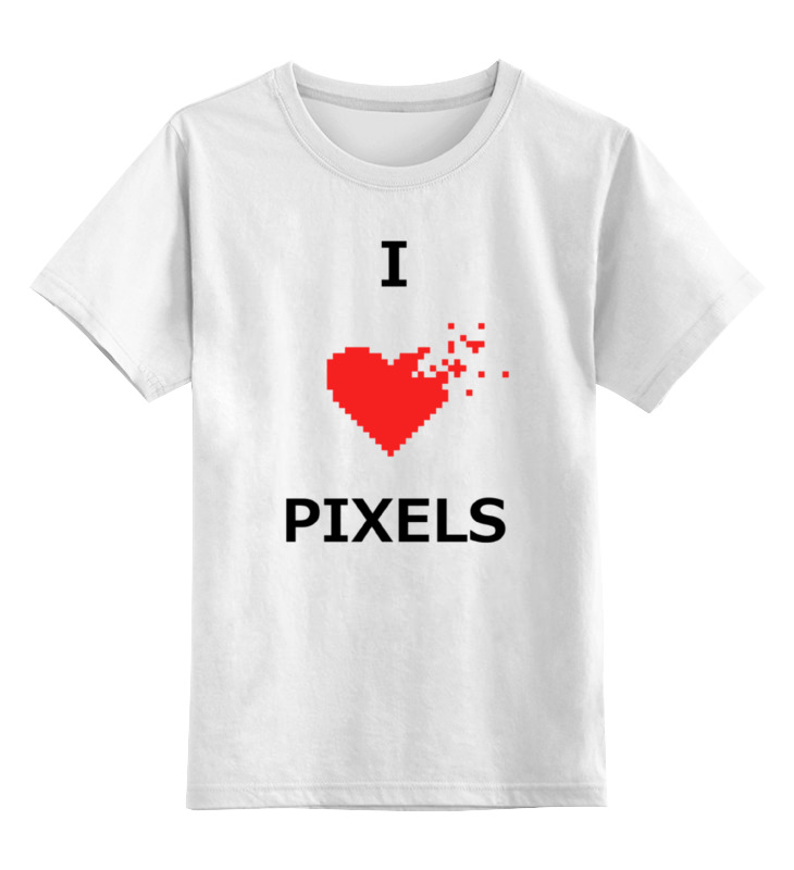 Printio Я люблю пиксели лонгслив printio я люблю пиксели