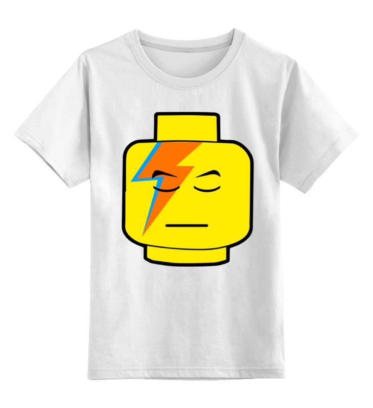 Детская футболка классическая унисекс Printio Лего боуи детская футболка классическая унисекс printio лего lego