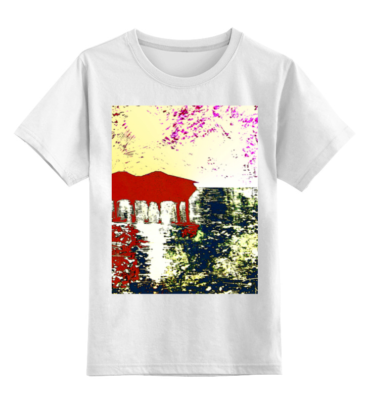 Детская футболка классическая унисекс Printio Мальдивы на закате сколько стоит бунгало на гуа