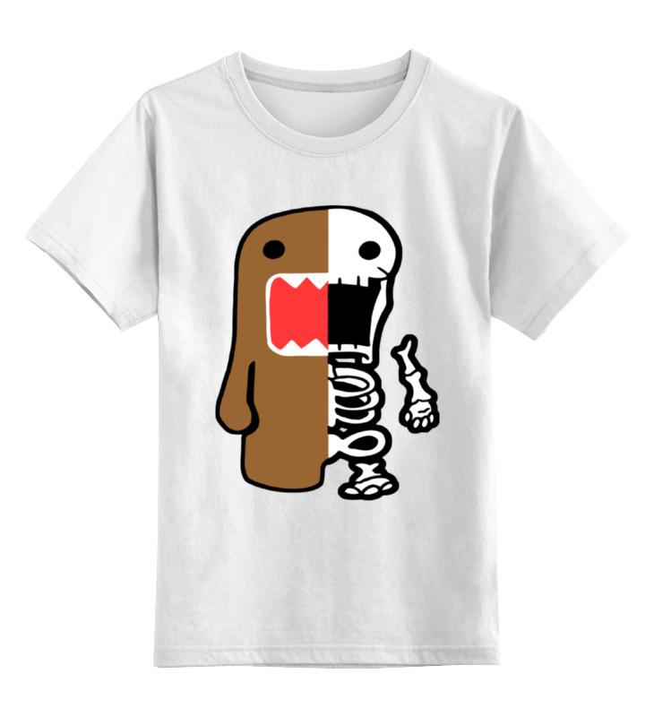 Детская футболка классическая унисекс Printio Домо-кун (domo)