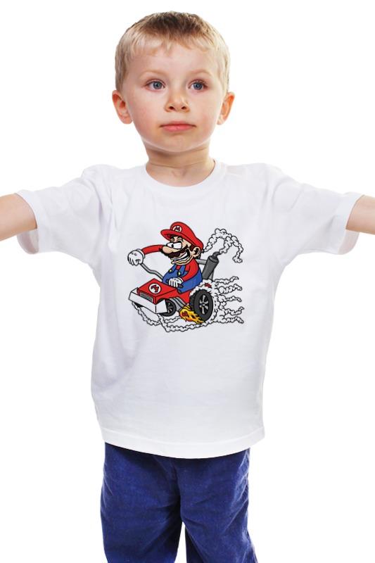Детская футболка классическая унисекс Printio Марио карт автомагазин купить бортовий компютер в киеве