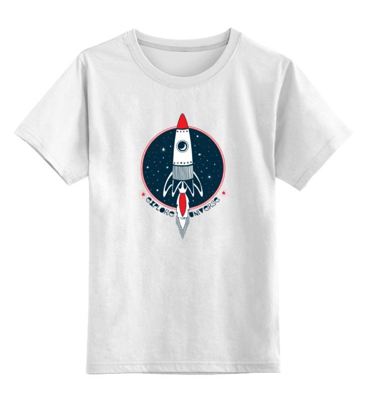 Детская футболка классическая унисекс Printio Ракета конгревова ракета
