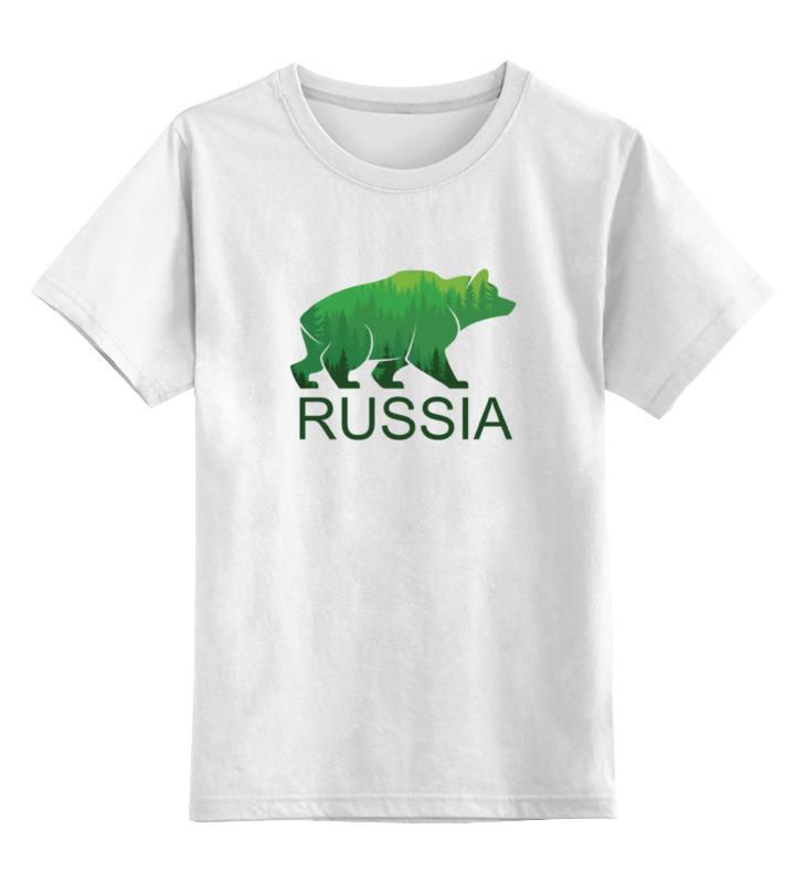 Детская футболка классическая унисекс Printio Россия, russia детская футболка классическая унисекс printio россия украина