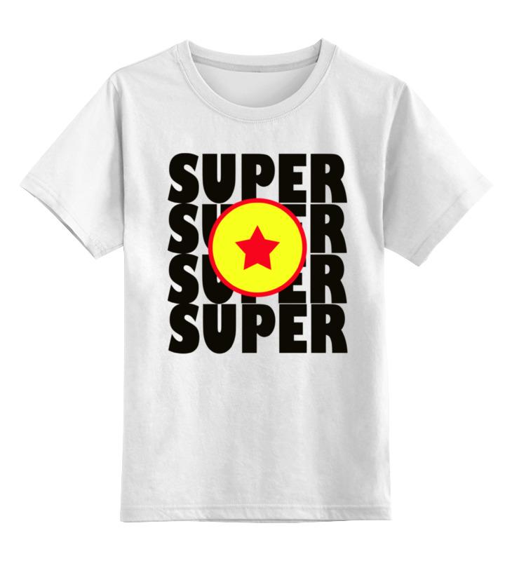 Детская футболка классическая унисекс Printio Супер звезда (супер сайян)