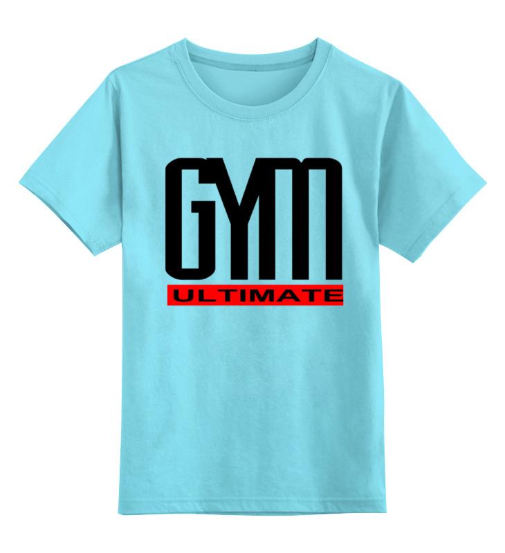 Детская футболка классическая унисекс Printio Gym ultimate футболка ultimate nutrition