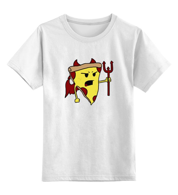 Детская футболка классическая унисекс Printio Пицца дьявол детская футболка классическая унисекс printio мачете