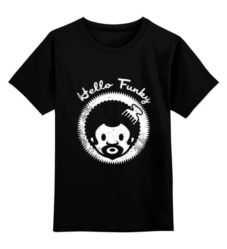 Детская футболка классическая унисекс Printio Hello funky футболка funky staff