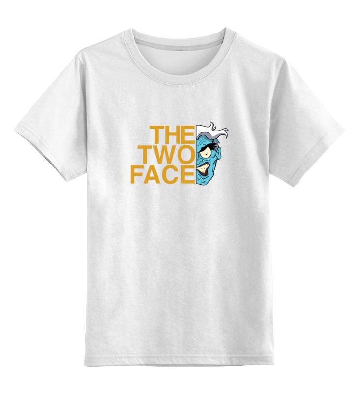Детская футболка классическая унисекс Printio Двуликий (бэтмен)