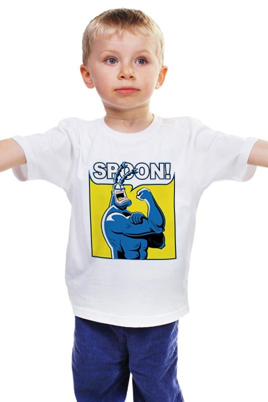 Детская футболка классическая унисекс Printio Тик-герой детская футболка классическая унисекс printio комиксы