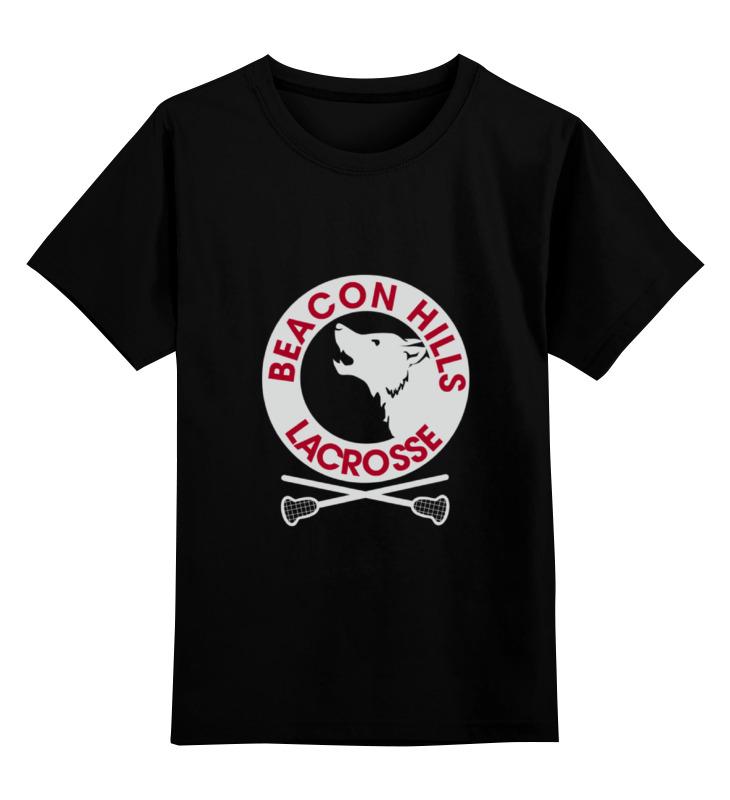 Детская футболка классическая унисекс Printio Teen wolf - beacon hills все цены