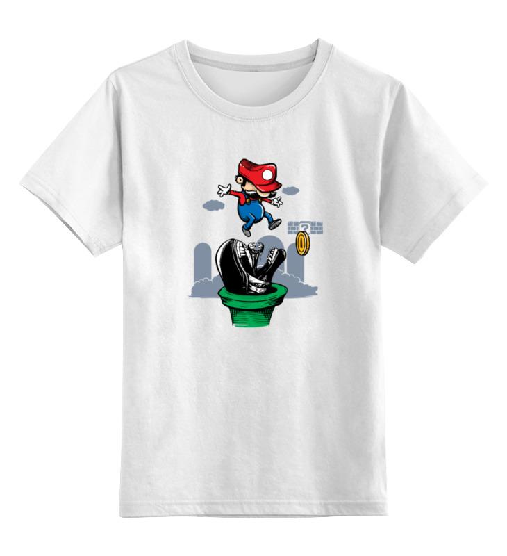 Детская футболка классическая унисекс Printio Марио чужой цена и фото