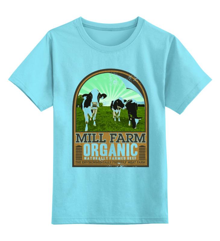 Детская футболка классическая унисекс Printio Органик