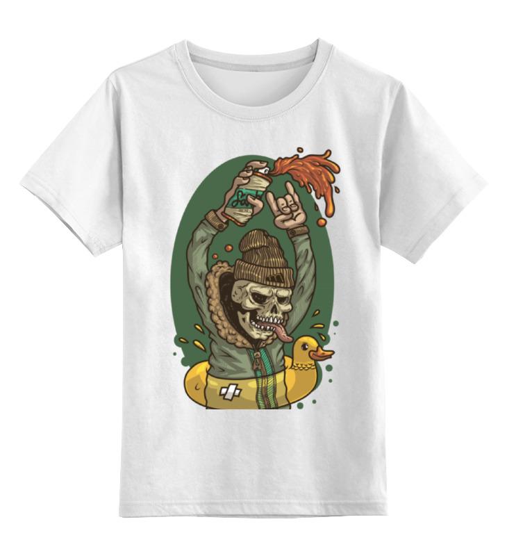 Детская футболка классическая унисекс Printio Graffiti is not dead! футболка neff camo is dead athletic heather