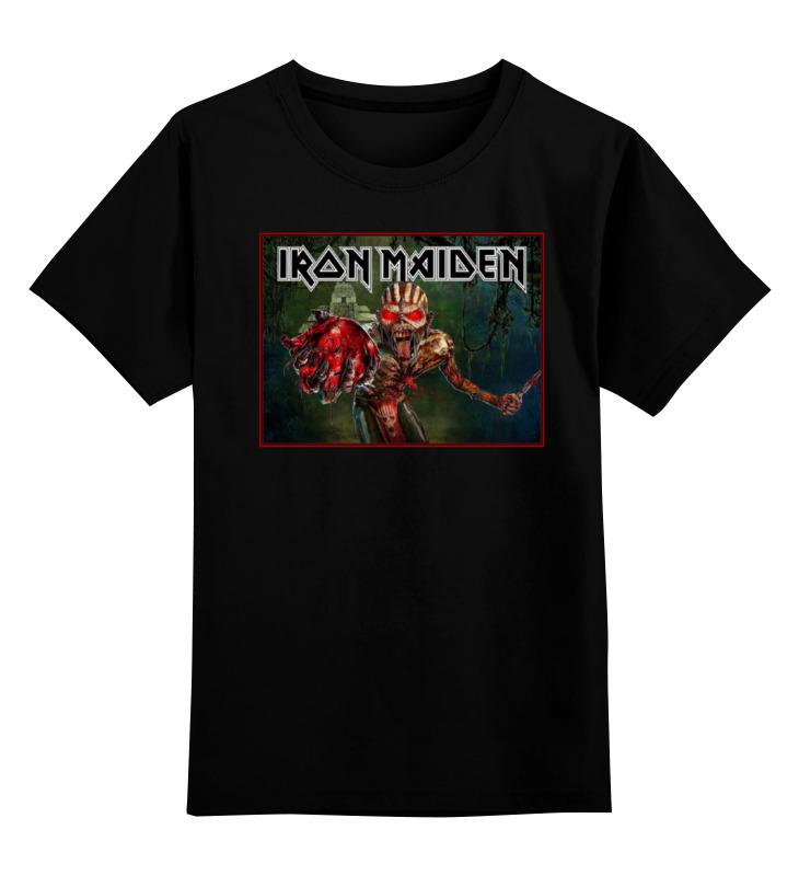 Детская футболка классическая унисекс Printio Iron maiden band cd iron maiden a matter of life and death