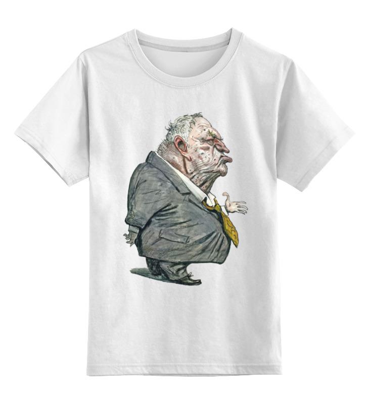 Детская футболка классическая унисекс Printio Грозный жириновский