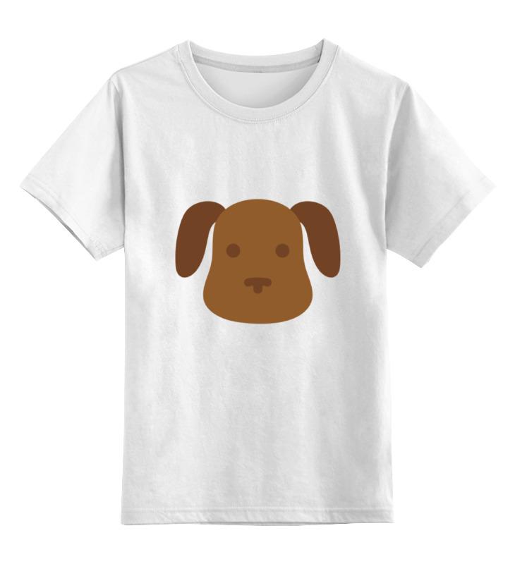 Детская футболка классическая унисекс Printio Собачка цена и фото