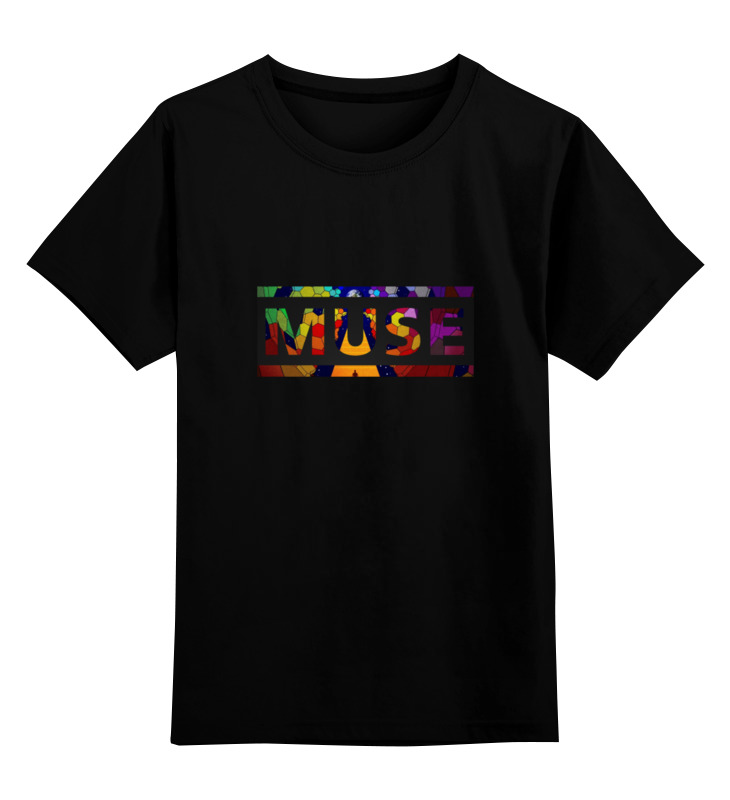 Детская футболка классическая унисекс Printio Muse into me футболка стрэйч printio muse