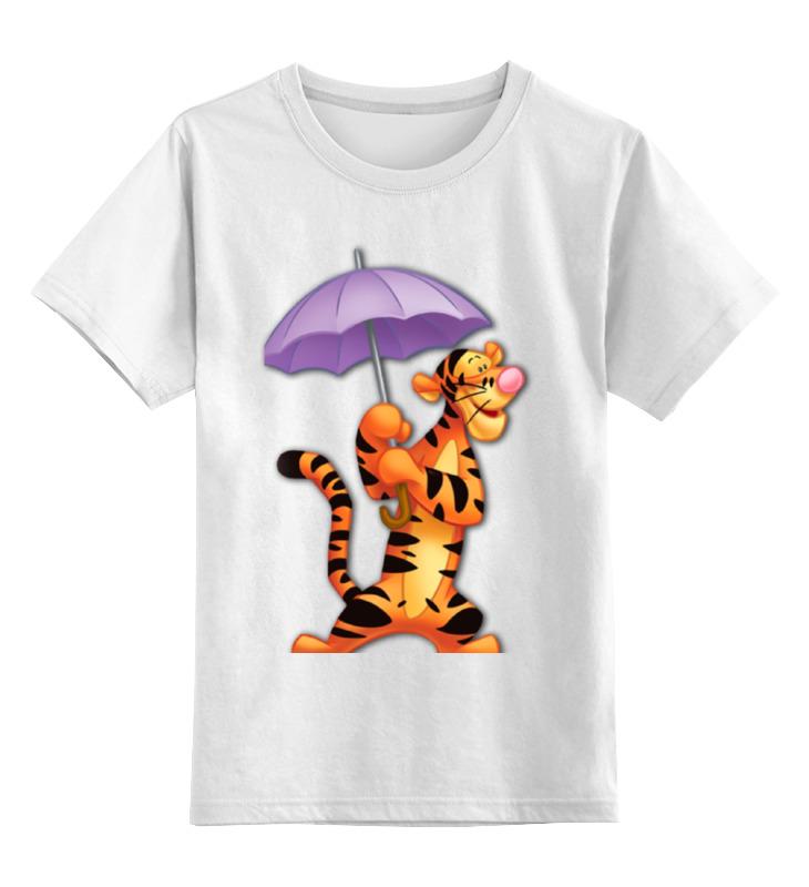 Детская футболка классическая унисекс Printio Тигра детская футболка классическая унисекс printio морда тигра