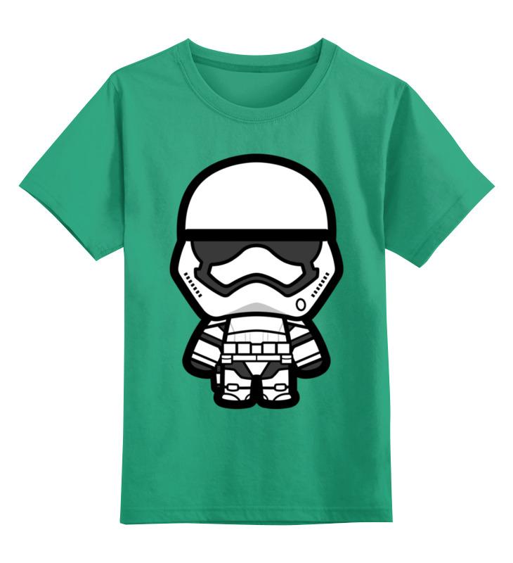 Детская футболка классическая унисекс Printio Штурмовик (звёздные войны) цена и фото