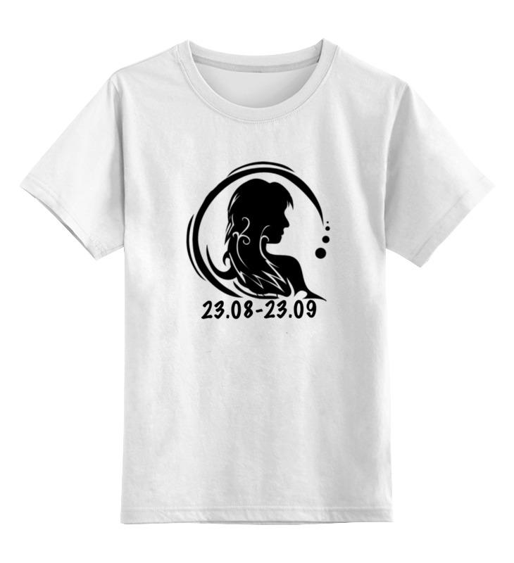 Детская футболка классическая унисекс Printio Дева. футболка классическая printio дева