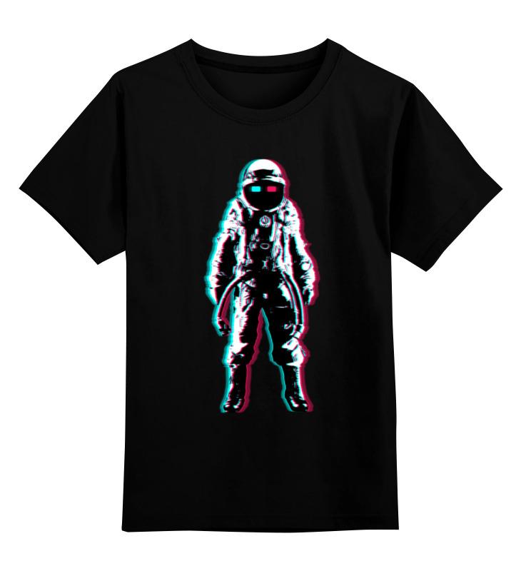 Детская футболка классическая унисекс Printio Космонавт 3d детская футболка классическая унисекс printio панда космонавт