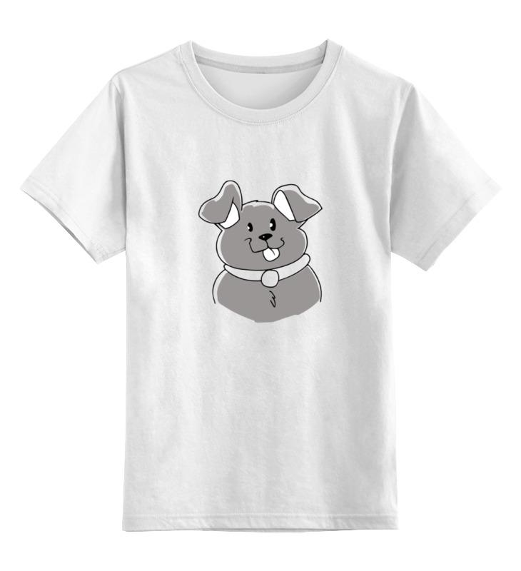 Детская футболка классическая унисекс Printio Весёлая собачка детская футболка классическая унисекс printio бразилия