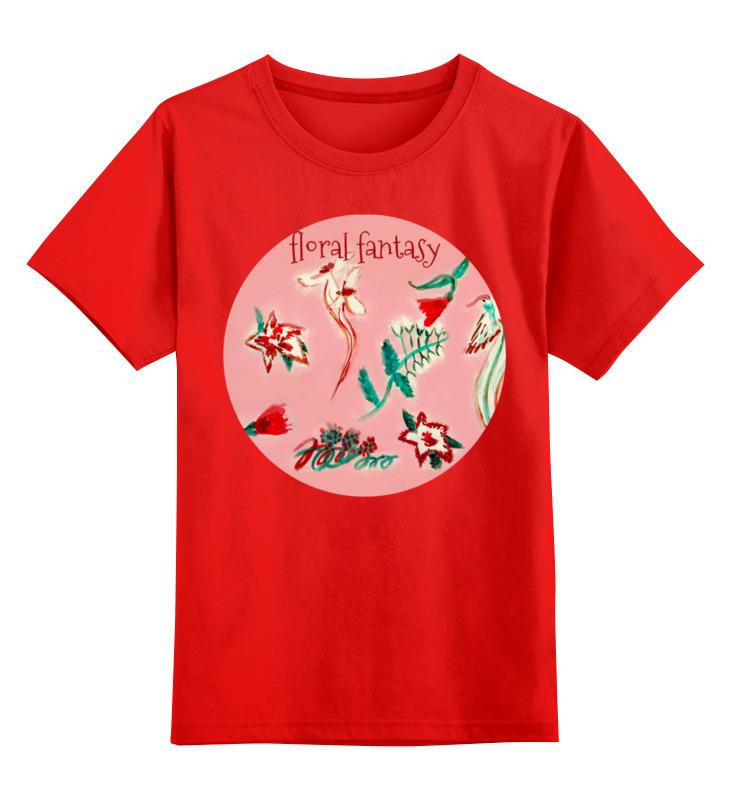 Детская футболка классическая унисекс Printio Цветочная сказка детская футболка классическая унисекс printio зимняя сказка