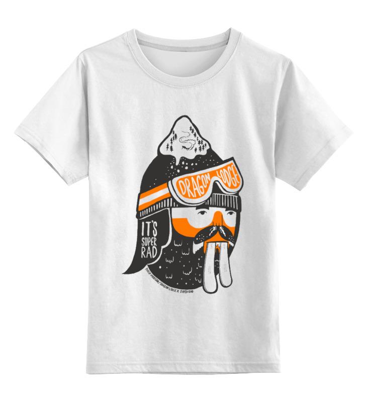 Детская футболка классическая унисекс Printio Бобер