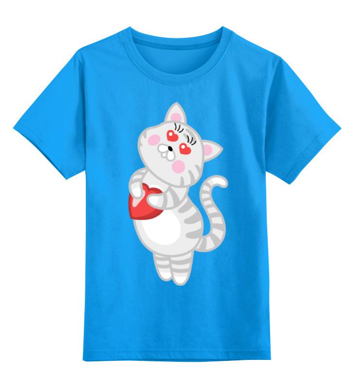 Printio Влюбленная кошечка детская футболка классическая унисекс printio кошечка