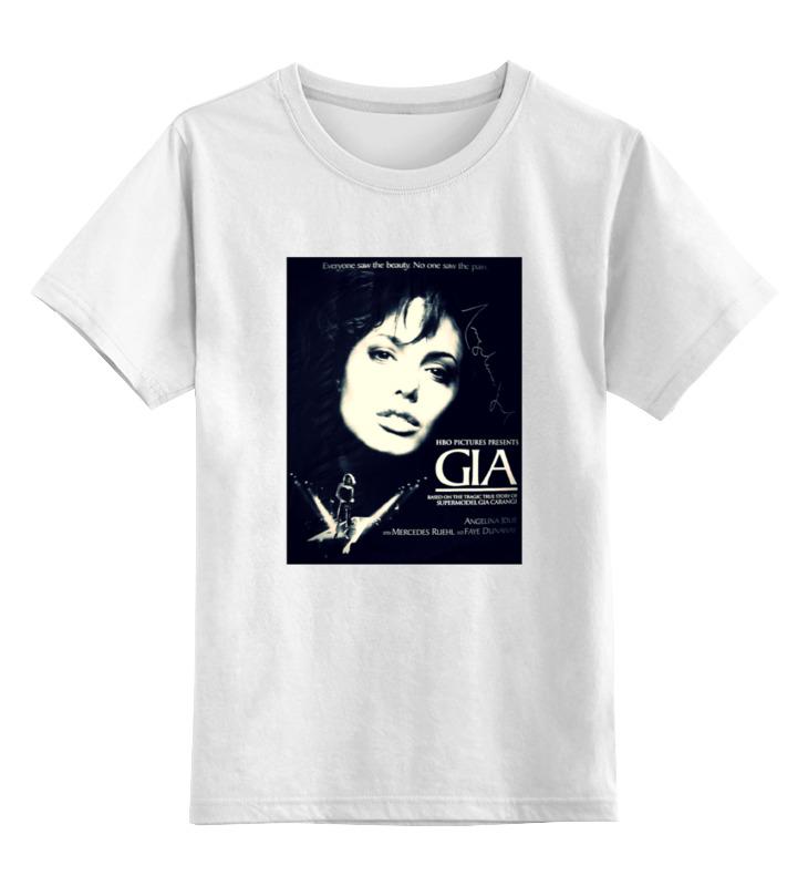 Детская футболка классическая унисекс Printio Джиа каранджи
