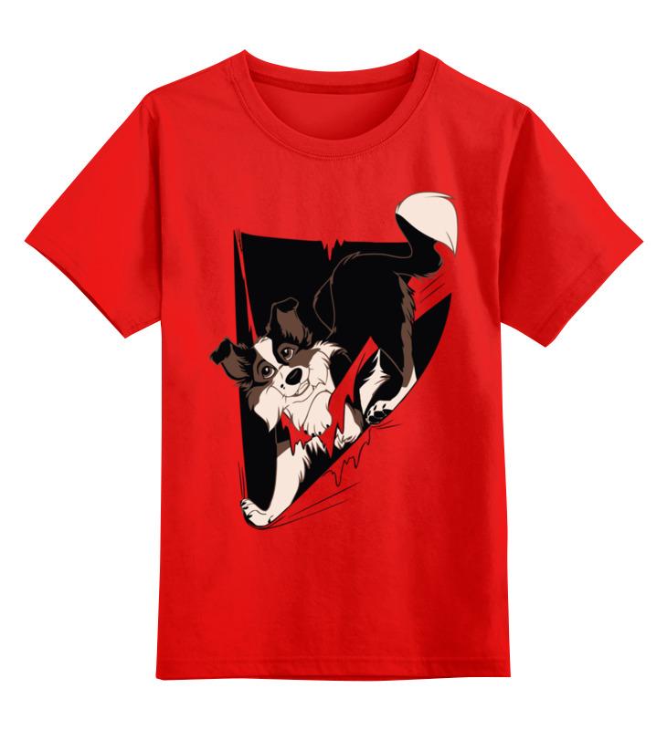 Детская футболка классическая унисекс Printio Собака детская футболка классическая унисекс printio зимние забавы