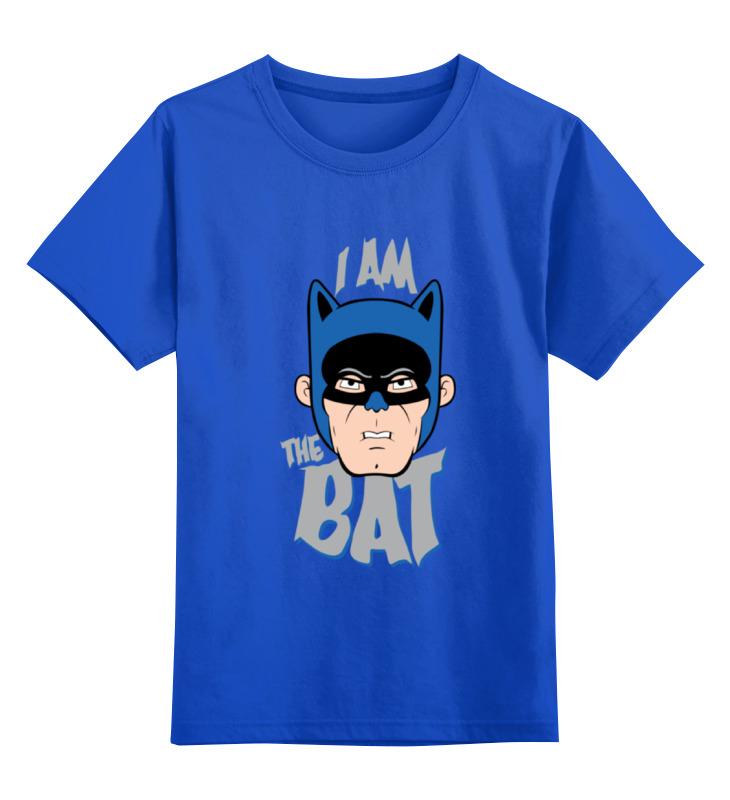 Детская футболка классическая унисекс Printio I am the bat футболка классическая printio the black keys