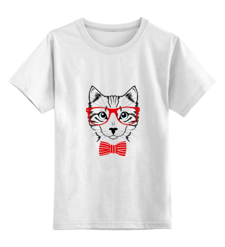 Детская футболка классическая унисекс Printio Кошка оплетка autoprofi sp 9030 bk l