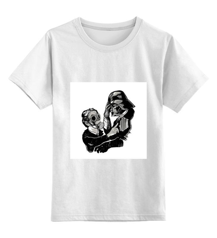 Детская футболка классическая унисекс Printio Darth vader и слон сумка printio darth vader и слон