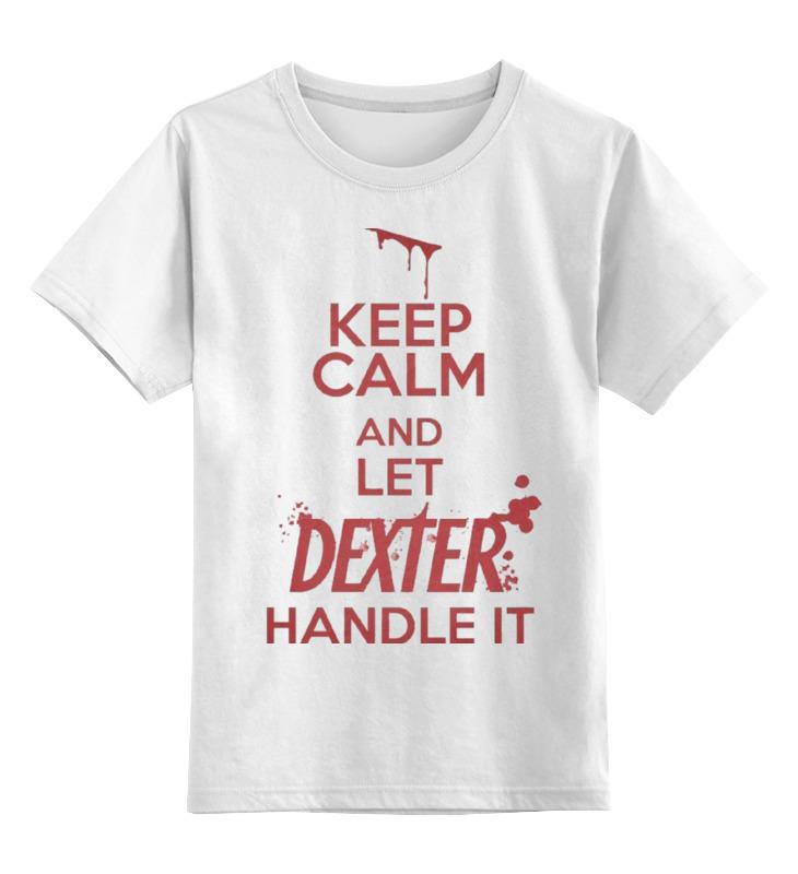 Детская футболка классическая унисекс Printio Декстер футболка рингер printio декстер