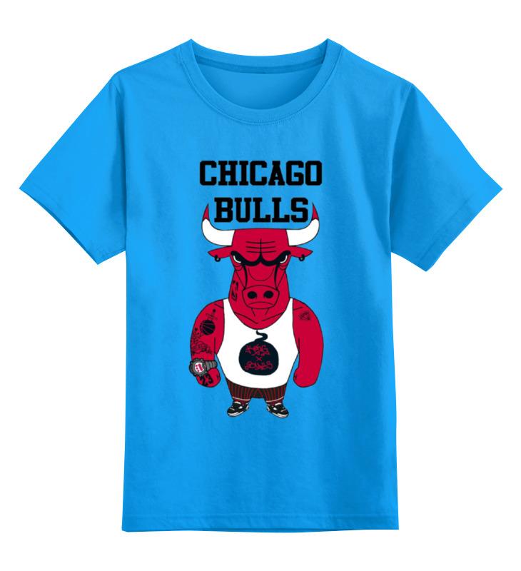Детская футболка классическая унисекс Printio Chicago bulls велосипед bulls nandi 27 5 2017