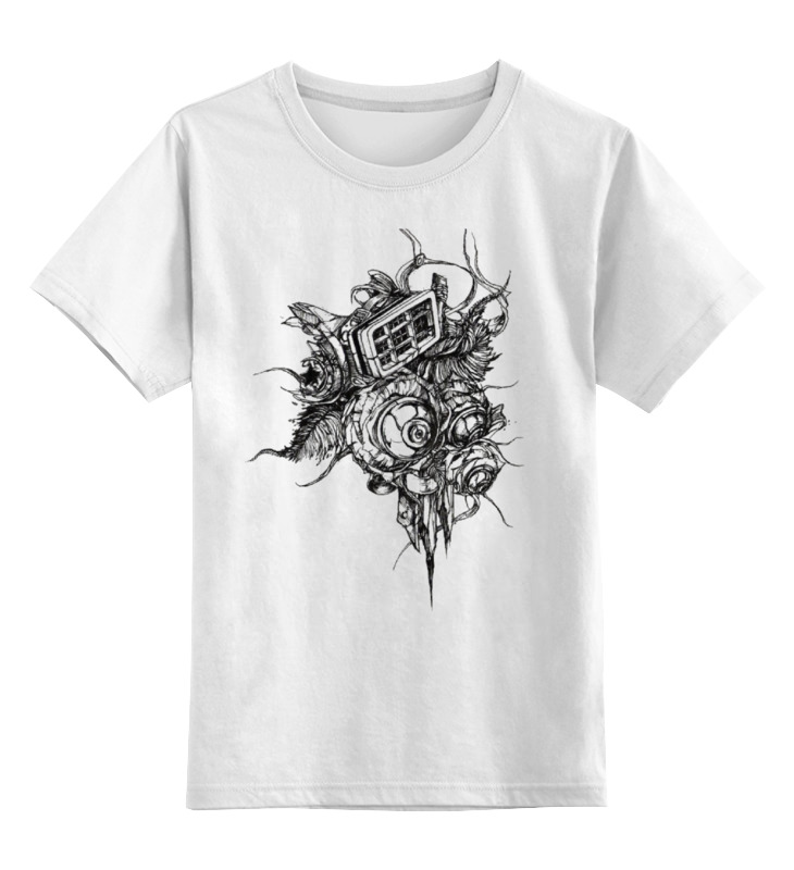 Детская футболка классическая унисекс Printio Sdis футболка детская bodo цвет белый 4 86u размер 86 92