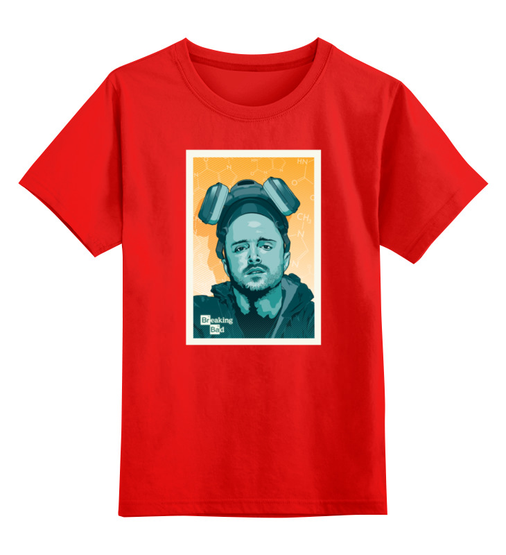 Детская футболка классическая унисекс Printio Jesse pinkman jesse jesse kaikki