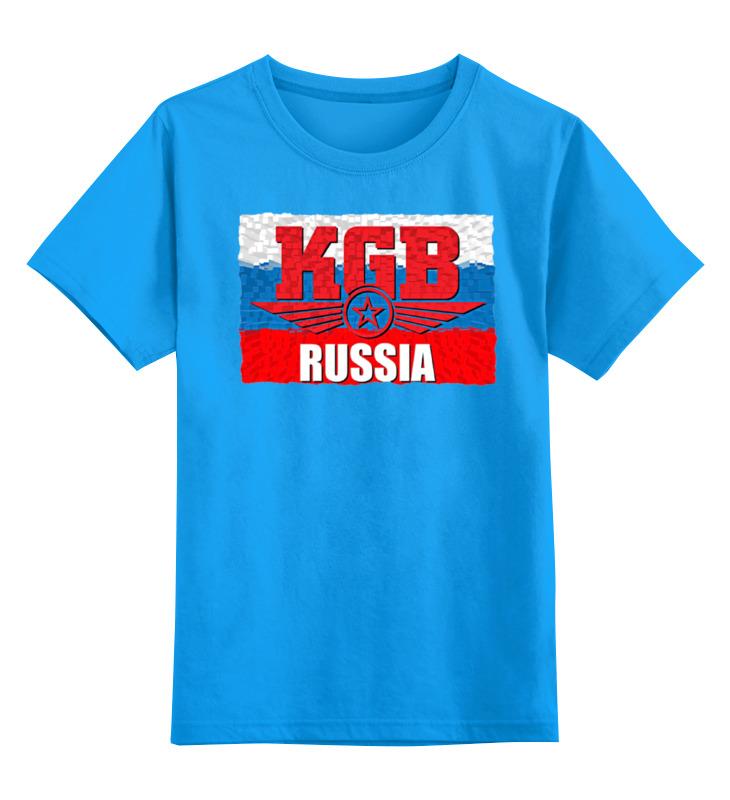 Детская футболка классическая унисекс Printio Kgb - russia