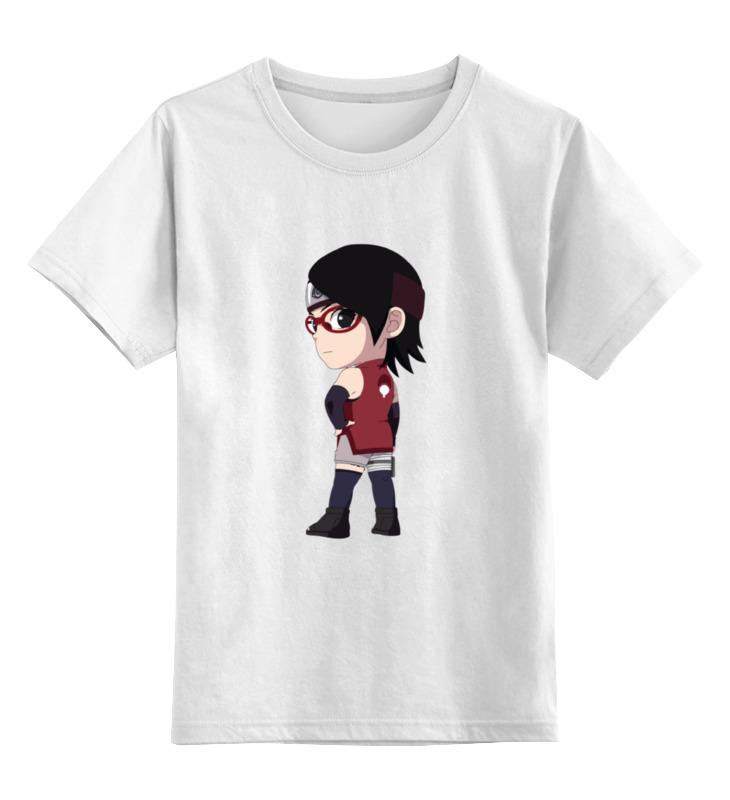 Детская футболка классическая унисекс Printio Сарада учиха футболка учиха