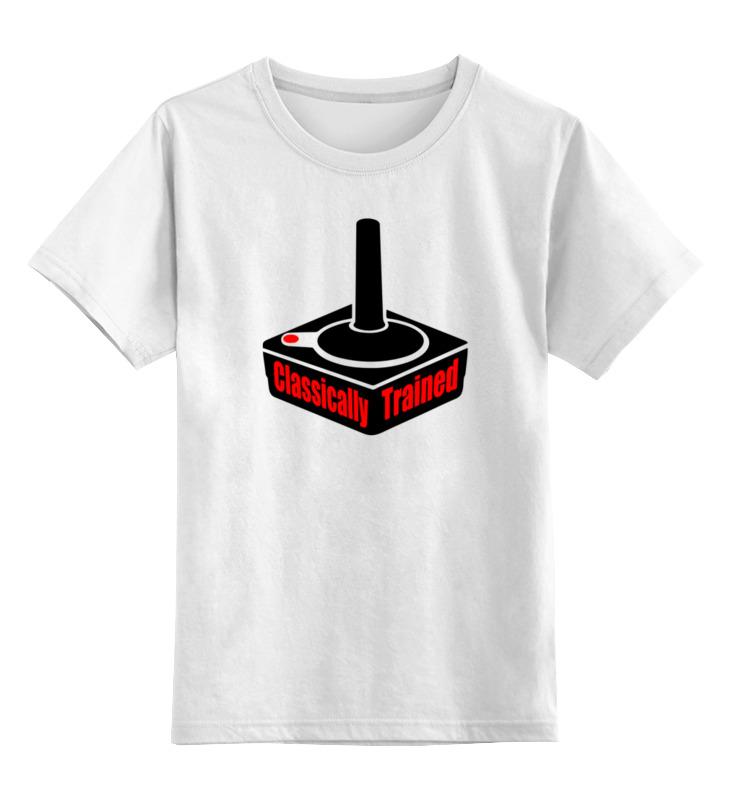 Детская футболка классическая унисекс Printio Джойстик